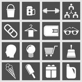 Useful Editable Icons For Web and Mobile. EPS-10 — Stock Vector