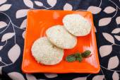 South Indian Food Idly Sambar Wada — Stock Photo