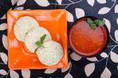 South Indian Food Idly Sambar Wada — Zdjęcie stockowe