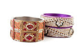 Beautiful & very Attractive Bangles. Indian Bracelet — Stock Photo