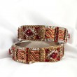 Beautiful & very Attractive Bangles. Indian Bracelet — Stock Photo #57780385