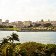 View from the fort Castillio el Morro on the capital Havana — Stock Photo #65547539