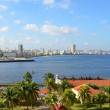 View from the fort Castillio el Morro on the capital Havana — Stock fotografie #65549297