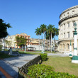 Beautiful buildings in Havana- lifestyle - the capital of Cuba Cuba — Stock Photo #68838807