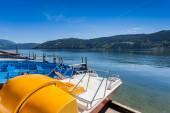 The lake of Millstatt, Austria — Stockfoto