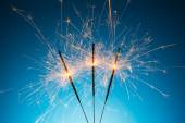 Ignited Sparkler — Stock Photo