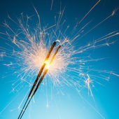 Fireworks sparklers — Stock Photo