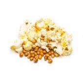 Mikrowellen-popcorn — Stockfoto