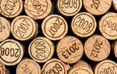 Wine corks vintages — Stock Photo