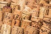 Old wine corks — Stock Photo