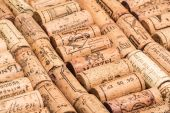 Corks frome wine vintages — Stock Photo
