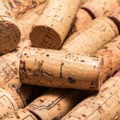 Korki od wina butle — Zdjęcie stockowe