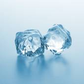 Two ice rocks — Stock Photo