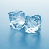 Cold ice chunks — Stock Photo