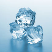 Heap ice chunks — Stock Photo