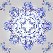 Ornamental round floral pattern. mandala. — Stock Vector