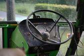 Vintage tractor interior — Stock Photo