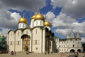 The Cathedral of the Dormition in the Moscow Kremlin — Стоковое фото