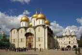 The Cathedral of the Dormition in the Moscow Kremlin — Stock Photo