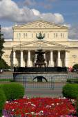 The Bolshoi Theatre is a historic theatre in Moscow, Russia — Stock Photo