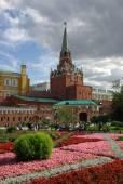 Trinity Tower of Moscow Kremlin — Stock Photo