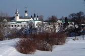 Winter day in Suzdal, Russia — Foto Stock