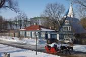 Winter day in Suzdal, Russia — Stock Photo
