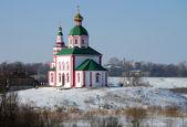 Elias Church on the Kamenka river, Suzdal — Stock Photo