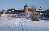 The Saviour Monastery of St. Euthymius in Suzdal — Stock Photo