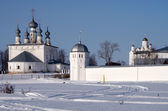Convent of the Intercession and Saints Peter and Paul Church in — Stock Photo