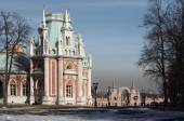 Tsaritsyno Park and Estate in Moscow — Stockfoto