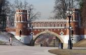 Tsaritsyno Park and Estate in Moscow — Stock Photo