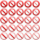 No Admittance signs — Stock Photo