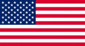 Unites states USA flag illustration. — Stock Photo