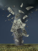 The concept of financial crisis. — Stock Photo