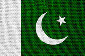 Flagga pakistan — Stockfoto