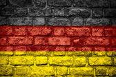 德国的旗子 — 图库照片