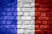 法国国旗 — 图库照片
