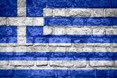国旗的希腊 — 图库照片