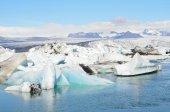 The glacial lagoon Jokulsaurloun, Iceland — Stockfoto