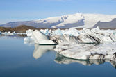 The glacial lagoon Jokûlsaurloun, Iceland — Stock Photo