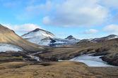Iceland, Landmannalaugar, riolit mountains — Stock Photo