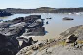 Iceland, the melting of the Vatnajokull glacier, the largest in Europe — Stock Photo