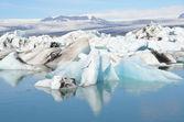 The glacial lagoon Jokûlsaurloun, Iceland — Stock Photo