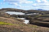 İzlanda, riolit Dağları — Stok fotoğraf