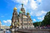 The Cathedral of the Savior on blood in St. Petersburg — Stock Photo