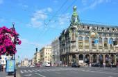 St. Petersburg, Nevsky prospect — Stock Photo