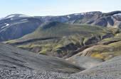 冰岛,landmannalaugar,riolit 山 — 图库照片
