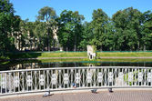 Mikhailovsky garden in St. Petersburg, Russia — Stock Photo