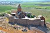 Armenia, Hor Virap - monastery of the first century — Foto Stock